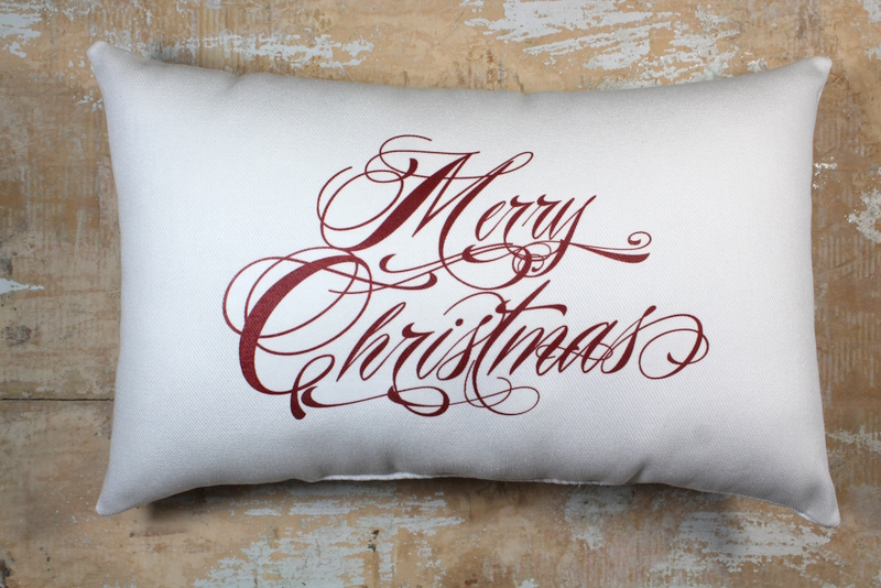christmas pillow merry christmas christmas decor holiday decor